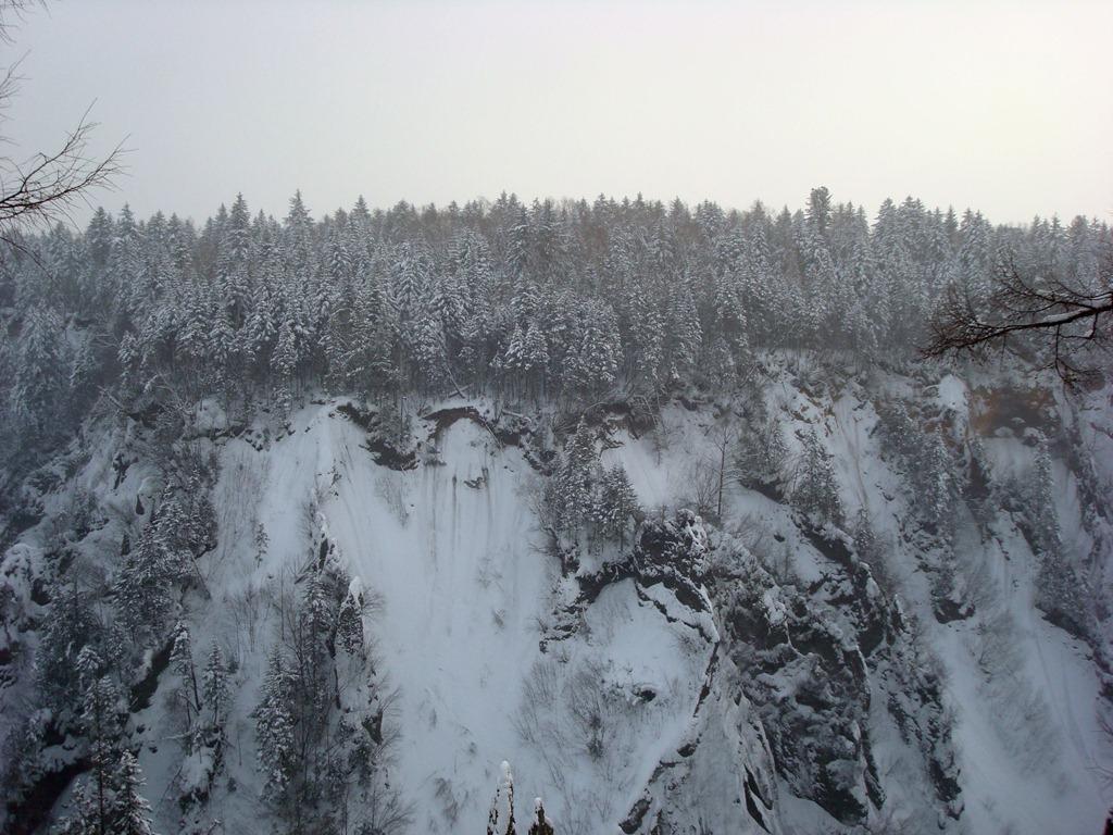 长白山大峡谷1